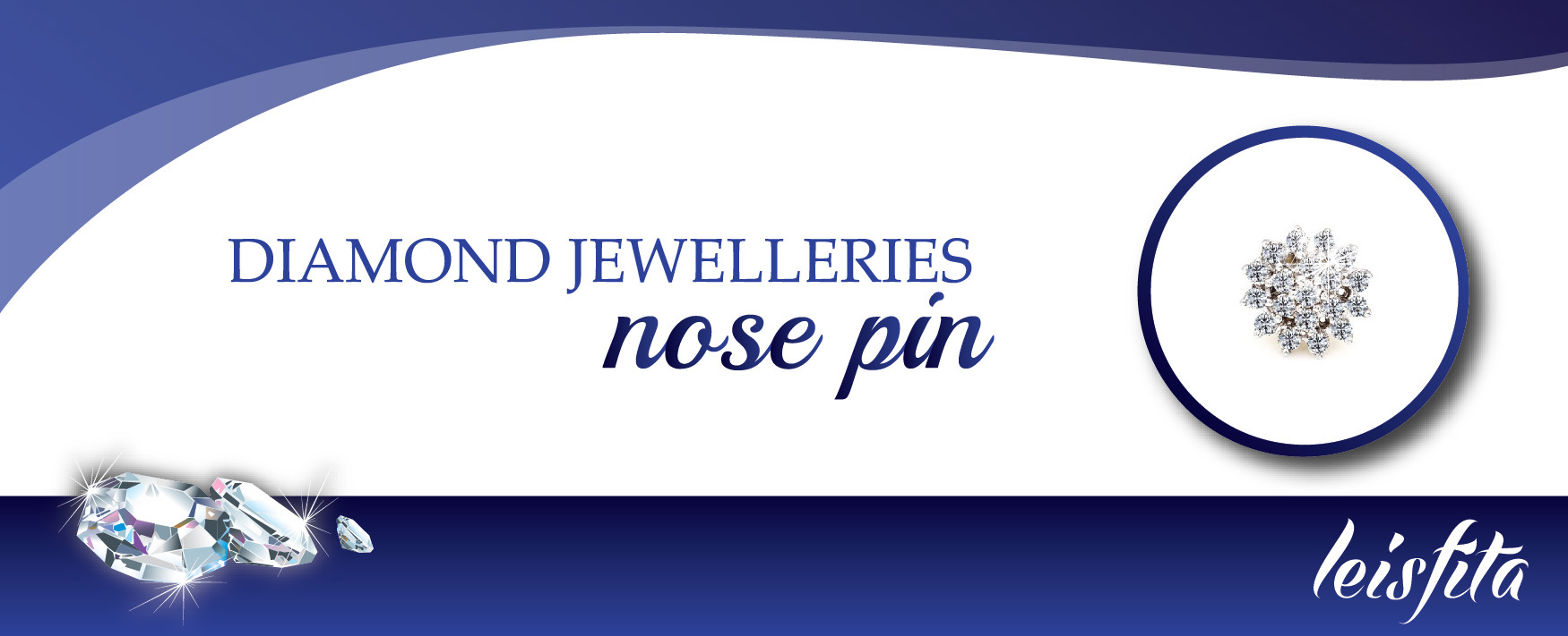 Buy Diamond Nose Pin from 2019 Latest Designs | LeisFita com