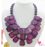 Romantic Semi-precious Stone Necklace