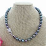 Multi Color Rice Pearl Necklace