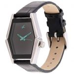 Strap leather watch