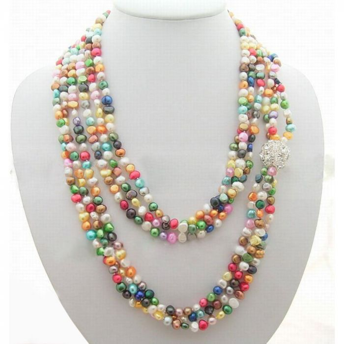 ariel product statement rhinestone necklace