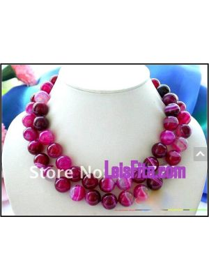 Red color Jewelry necklace