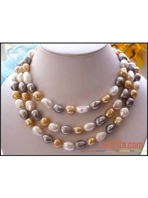 Jewelry  white gray gold necklace