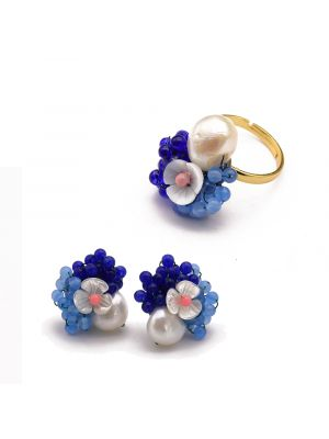 Natural Fresh Water Baroque Pearl  Jewelry Sets