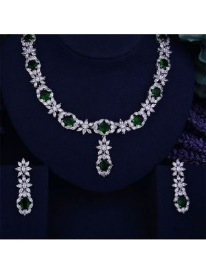 Bride Cubic Zirconia Necklace