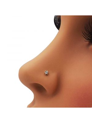 Super Star Diamond Nose Pin