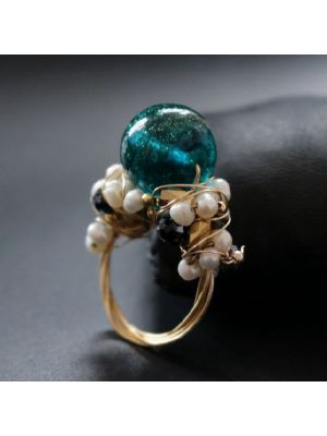 Fresh Water Baroque Pearl Ring