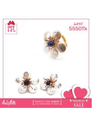 Baroque Pearl Jewelry Sets for Women in Valentine