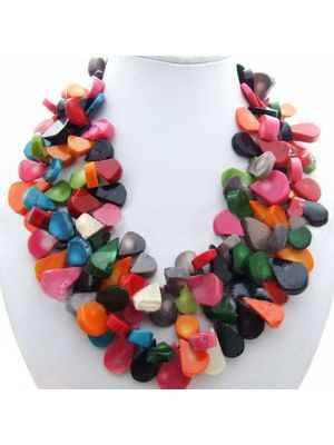 Strands Coral Necklace