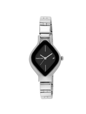 Fastrack Analog Black Dial 6109SM02 for Women's Watch