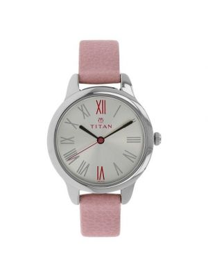 White color Titan Youth Analog Dial Women's Watch - NE2481SL01
