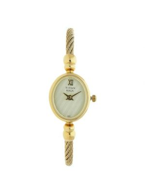 Gold color Titan Raga Analog Dial Women's Watch - NE197YM01